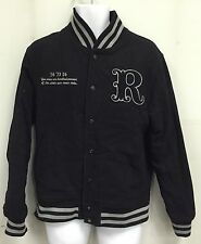 Roots Varsity WOOL Bomber Jacket Sz Medium
