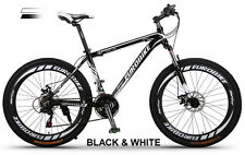 Brand New Cyber Z300 Black&White 26 inch 21 Gears Shimano  Mountain bike+bonus