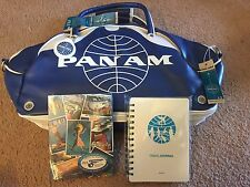 Pan Am Airlines Certified Lg Vintage Inspired Retro Gym Carry On Travel Bag NEW