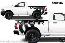 Vinyl Decal MOPAR Wrap Kit for Dodge Ram 09-14 1500/2500/3500 MIDBOX Matte Black
