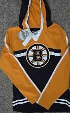 Boston Bruins Youth Size L  Pullover Hoodie - Black - NHL MSRP $50