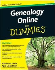 Genealogy Online For Dummies-ExLibrary