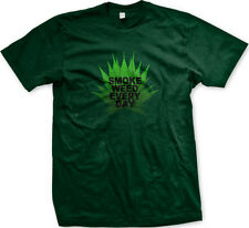 Smoke Weed Every Day Pot Leaf Marijuana 420 Canabis High Mens T-shirt