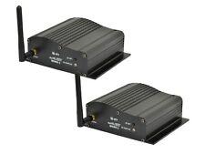 2 x SANS FIL DMX QTX émetteur-récepteur émetteur récepteur 2,4 ghz contrôle de l'éclairage
