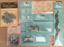 "Ephemera ""My Jewelry Shop"" Idea-ology, & Spare Parts For Crafting Jewelry"
