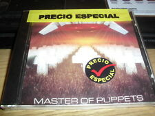 METALLICA -MEXICAN MASTER OF PUP- 100% ORIGINAL MEXICAN EDITION NEW AND SEALED !
