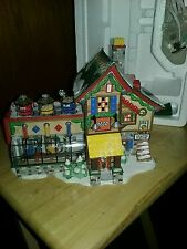 DEPT 56 NORTH POLE VILLAGE *LEGO BUILDING CREATION STATION NEW IN BOX