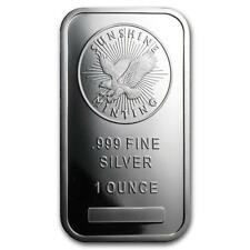 1 oz Silver Sunshine Silver Bar Lot 62T