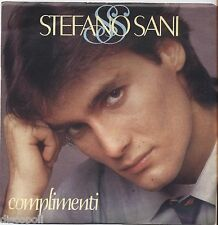 "STEFANO SANI - Complimenti - VINYL 7"" 45 LP 1983  NM COVER VG+ CONDITION"
