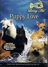 Living Art PUPPY LOVE VIRTUAL PET STORE WINDOW MOOD ENHANCING RELAXATION DVD NEW