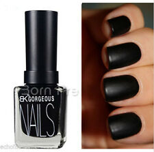 12ML Black Frosted Matte Dull Nail Art Polish Enamel Varnish Nail Decoration