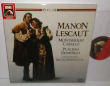 EX 153  29 1175 3 Puccini Manon Lescaut Caballe Domingo Bartoletti 2LP Box Set