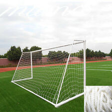 12x6ft White Football Soccer Goal Net For Outdoor Sports Training Match