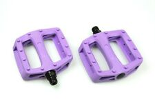 [US SELLER] Wellgo Platform Pedals MTB BMX Road Bike Bicycle Fixed Gear - PURPLE