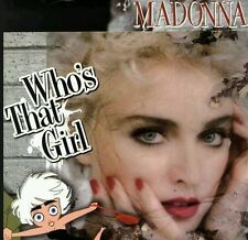 "NEW! MADONNA WHO'S THAT GIRL 12"" CLEAR VINYL PROMO DISC. ONLY 70 COPIES+POSTER"