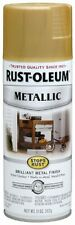GOLD Metallic Paint Spray for Metal Wood and More Rust Oleum 7270830 11 oz Can