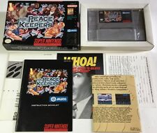 The Peace Keepers SNES (Super Nintendo) CIB 100% Complete Ultra Rare NM