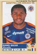 305 DJAMEL BAKAR # MONTPELLIER.HSC STICKER PANINI FOOT 2015