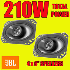 "VW Polo Golf MK2 Rear Hatch Speakers JBL 4x6"" Oval Car Speaker Speakers 210W"