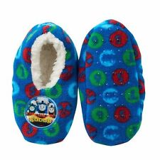 THOMAS the TANK AND FRIENDS - SLIPPERS SHOES SIZE 2-4/FITS SHOE SZ 4-7 **NEW**