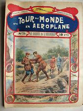 N74 AU DESSUS de L'HIGHARGHAR un tour du monde en aéroplane fascicule journal