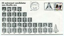 1978 35 Astronaut Candidates Join Shuttle Era Space Shuttle NASA Houston