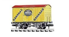 Peco NR-P140 Refridgerated Van Fyffes Bananas, Yellow 'N' Gauge New Boxed