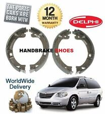 FOR CHRYSLER GRAND VOYAGER 2.4 2.5D 2.8D 3.3 2000-  NEW HAND BRAKE SHOES SET