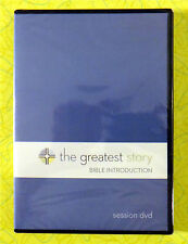 The Greatest Story Bible Introduction ~ New Session DVD Movie ~ Sealed Video
