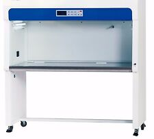 Vertical Laminar Flow Cabinet 4ft. with Locking Wheels, Brand New Boxed, Hood