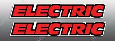 YAMAHA 1987 87 88 1988 TW200 TW 200 SIDE COVER DECALS GRAPHICS LIKE OEM CPR RED