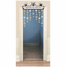 4ft Hollywood Movie Star Attractions Party Door Doorway Curtain Decoration