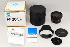 =MINT in BOX= Minolta New AF 20mm f/2.8 for Sony Alpha A Mount from Japan #l05