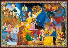 Disney Beauty and the Beast Glow in the Dark Jigsaw Puzzle Everlasting Love 1000