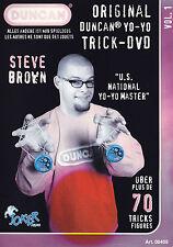STEVE BROWN - DUNCAN(R) YO-YO TRICK-DVD Vol.1