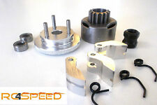 3 Jaws Coupling Complete set for 1:8, Clutch bell 14 Z