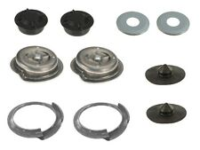 NEW BMW E46 GENUINE Cover Caps + Dust Protection Collars + Coil Spring Pockets