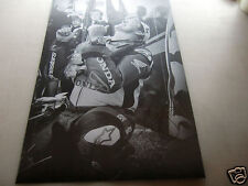 """*SIGNED*  A2 poster print - John McGuinness """"thumbs up"""" - isle of man TT"""