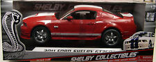 CARROLL SHELBY COLLECTIBLES 1:18 SCALE DIECAST METAL RED 2011 SHELBY GT350