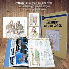 Tirage Luxe Blake et Mortimer JUILLARD Le serment des cinq Lords version 52 ex