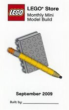 Constructibles® Book & Pencil LEGO® Mini Build Parts & Instructions Kit