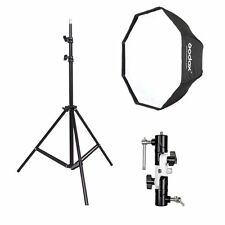 Godox 80cm Octagon Umbrella Softbox and Photograph​y Light Stand kit