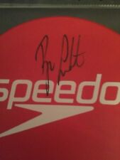 Ryan Lochte Speedo swim cap autographed Signed Olympics Swimming