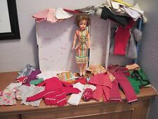 Vintage 1960s Ideal Tammy LOT Doll High Color BS-12 w/Case, Clothes, Accessories