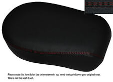 DARK RED DS ST CUSTOM FITS YAMAHA XVS 650 CLASSIC V STAR LEATHER REAR SEAT COVER