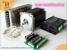 New!USA free ship!CNC Wantai 1Axis Nema34 Stepper Motor 1090oz 5.6A&Driver 7.8A