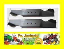 Conjunto de cuchillos 2x para tractor de césped MTD b10, b100, b115 742-0487 a