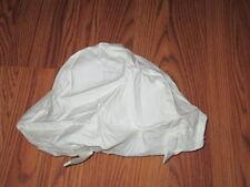 USGI Parachutists Winter White Camoflage Helmet Cover Size LARGE