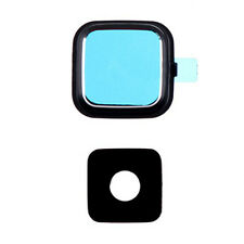 Black Rear Camera Glass Lens Cover Ring Repair for Samsung Galaxy Note 4 N910