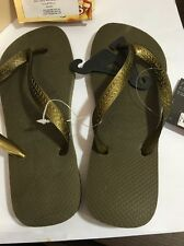 BRAND NEW havaianas Adult SIZE 7-8 Thongs Army